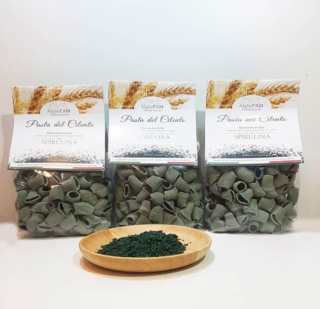 pasta artigianale del cilento spirulina italiana